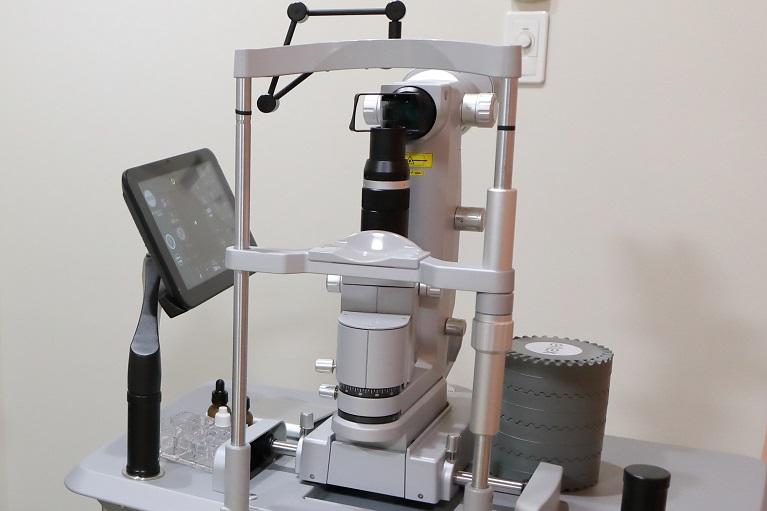 網膜光凝固用レーザー