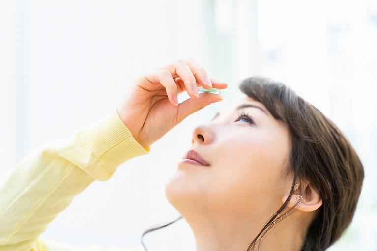 点眼薬・内服薬による薬物療法