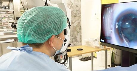 3D Visualization Systemを使用した最先端の日帰り手術に対応