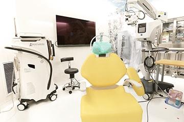 清潔を第一にクリーンな手術室を完備